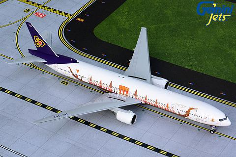 "Boeing 777-300 ""Suphannahong Royal Barge"""